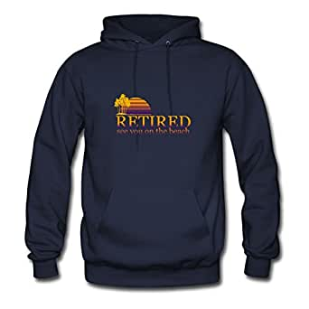 Funny_retirement_gift_tshirt Mabelbennett Sweatshirts Custom-made Women Comfortablestylish Navy