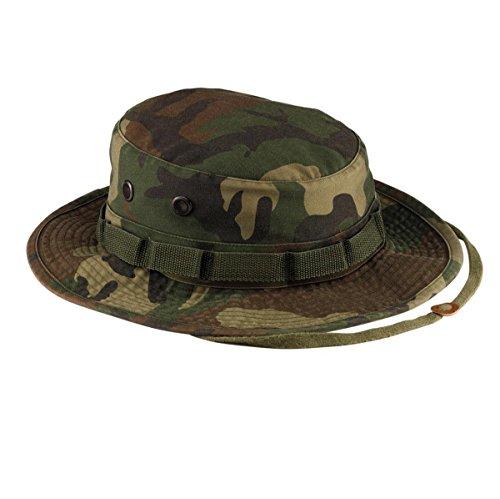 summer cotton embroidery visor bucket