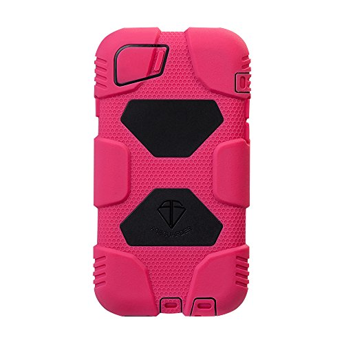 iPhone 6 Case, ACEGUARDER Rubber Military Heavy Duty Protective Cover [Slim fit] [Impact Resistant] with Kickstand...