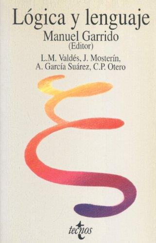 Descargar Libro Logica Y Lenguaje Manuel Garrido