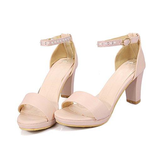 1TO9 Womens Non-Marking Huarache Dress Urethane Sandals MJS03308 Pink Vxvhbp