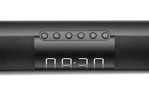 xingganglengyin Sound Blaster Bluetooth Speaker Wireless Portable Subwoofer Surround Sound Stereo Double Alarm Clock Subwoofer by xingganglengyin (Image #5)