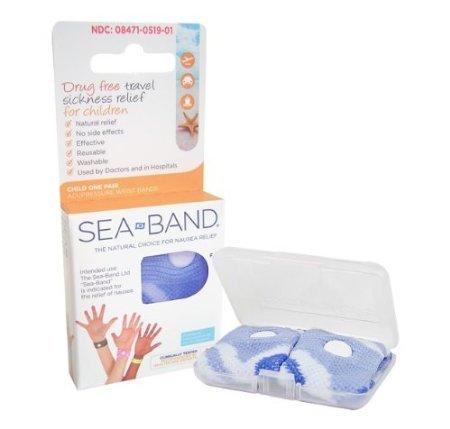 Sea Band - Bracelet Enfant - Un Paire *** Bleu ***
