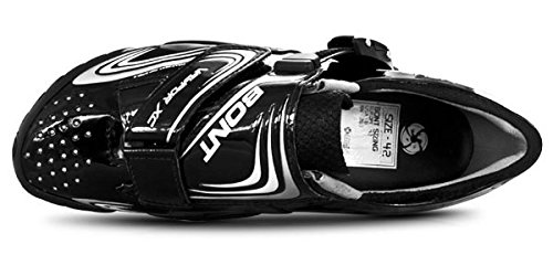 Bont MTB-Schuhe Vaypor XC, Chaussures de VTT Mixte Adulte Schwarz (Schwarz)