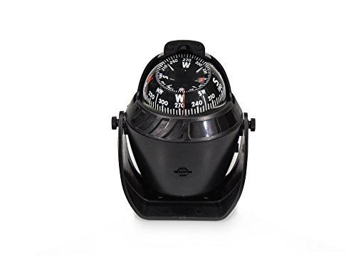 Five Oceans Black Explorer Compass W/Bracket Mount - BC 2435 by Five Oceans