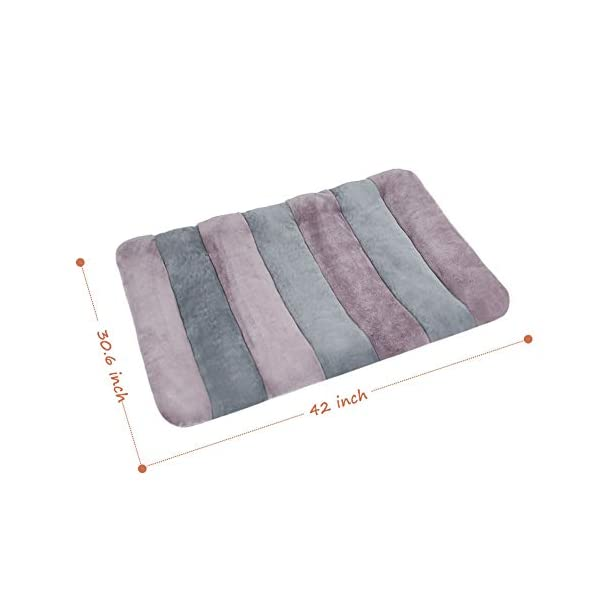 JoicyCo Large Dog Bed Crate Pad 42 in Mat 100% Washable Anti-Slip Dog Matress Kennel Pads 7