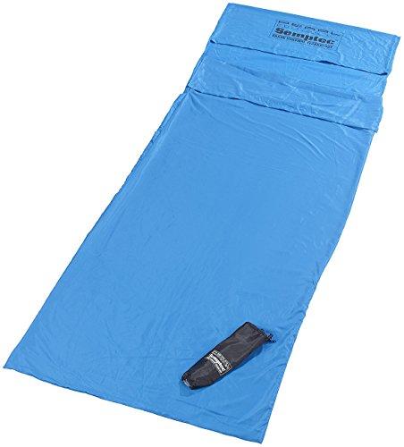 Semptec Urban Survival Technology Hütten-Schlafsack aus Mikrofaser, Rechteckform