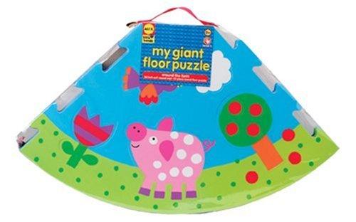 ALEX Toys Little Hands Giant Farm Floor Puzzle