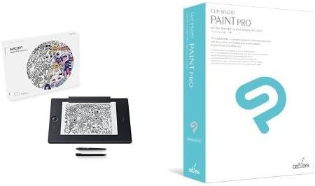 【CLIP STUDIO PAINT PROセット】ワコム ペンタブレット Intuos Pro Paper Edition L PTH-860/K1 + イラストソフト CLIP STUDIO PAINT PRO セット