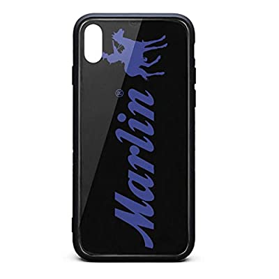 Hybrid Protective Durable Stylish Non-Slip Design Fashionable-Marlin-Funny-Firearms-iPhone Cases Covers for X,Xs,Xs Max Back Cover Anti-Scratch Scratch Resistant Thin Ultra Slim