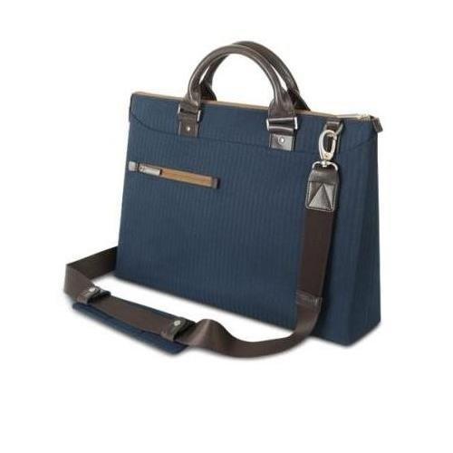 Slim Attache - MOSHI Urbana Laptop Brief (Bahama Blue)