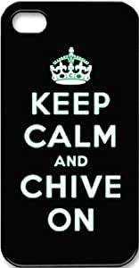Keep Calm and Chive on Hard Case for Iphone 4 4s
