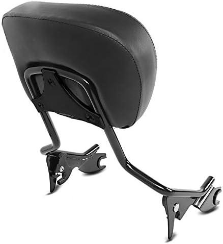Schienalino Sissy Bar Portapacchi KI Kit per Harley Touring 14-20 nero