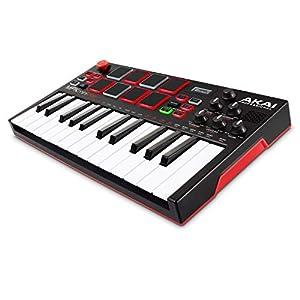 Flashandfocus.com 41J6WgcJjoL._SS300_ AKAI Professional MPK Mini Play – USB MIDI Keyboard Controller With a Built in Speaker, 25 mini Keys, Drum Pads and 128…