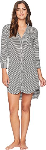 UGG Women's Vivian Knit Stripe, Black/White, M (Dress Ugg Womens)