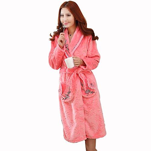 XGMSD Caldo Cotone Notte Di Pigiama Camicia Flanella Da Red Ms rw7pqar