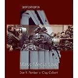 Mass Media Law 17th (Seventeenth) Edition byPember