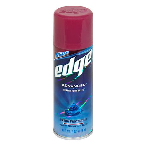 Edge Advanced Shaving Gel, Extra Skin Protection, 7 oz - Edge Shave Cream
