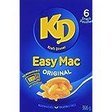 KRAFT Dinner Easy Mac Macaroni and Cheese, 366g