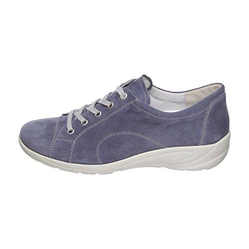 donna stringate blau Semler Scarpe Blu B6055 Mittel qFOx1TZ8
