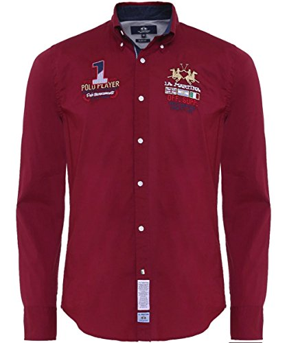 la-martina-mens-slim-fit-forest-shirt-cordovan-l