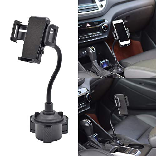 NNDA CO Car Gooseneck Cup Holder Mount Mobile Phone Stand Bracket for iPhone Samsung Huawei Xiaomi ZTE Android Cellphone
