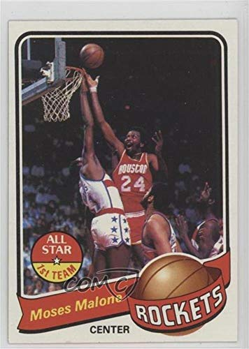 (Moses Malone (Basketball Card) 1979-80 Topps - [Base] #100)