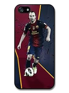 Zheng caseZheng caseAndres Iniesta FC Barcelona Red Blue Football Player case for iPhone 4/4s A152
