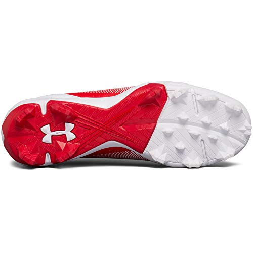 Under Armour Boys' Leadoff Low Jr. RM Baseball Shoe Red (611)/White 1 by Under Armour (Image #3)