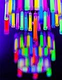 "Glow Fever Bulk 100ct 4"" Glow in The Dark Sticks"