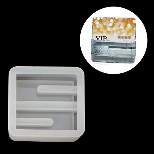 (EAPTS Silicone Mold Card Storage Pen Holder Ashtray Epoxy Resin Mold Jewelry Making)