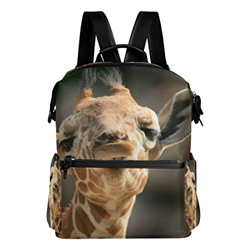 Hobo Giraffe (Backpack Cute Giraffe Mens Laptop Backpacks Hiking Bag School Daypack)