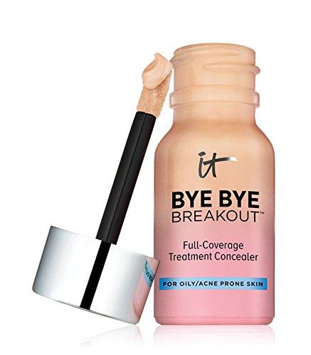 It Cosmetics - Bye Bye Breakout (Medium Tan) (Best Cheap Makeup For Acne Prone Skin)