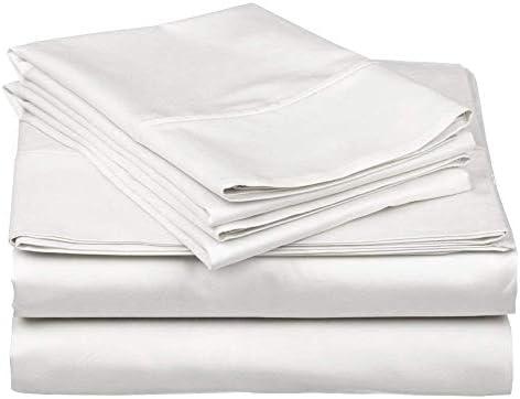 RajLinen Juego de sábanas 100% algodón egipcio de 400 hilos ...