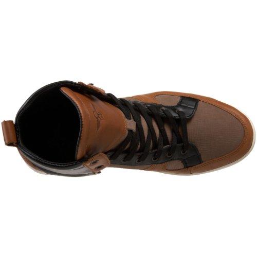 Creative Recreation Menns Solano Mote Sneaker Aske / Rust / Svart