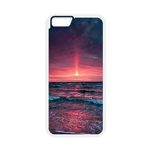 Sexyass Sunset IPhone 6 Case Pinkish Sunset, Cute Design Cheap Sunset, {White}