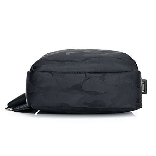 Lightweight Backpack for Women Girls Port Men Black Sling for Crossbody Women with Outdoor USB Travel Bag Men Crossbody Shoulder Bag Boys Pack Sports Charging Outdoors Sling Ybriefbag Casual Chest S0qxA4wF