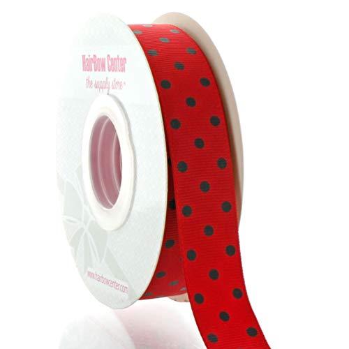 Fun Dots Grosgrain Ribbon - 7/8