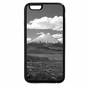 iPhone 6S Case, iPhone 6 Case (Black & White) - mountain