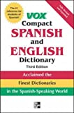 Vox Compact Spanish and English Dictionary, Vox Staff, 0071499512