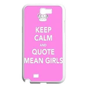 Steve-Brady Phone case Burn Book - Mean Girls For Samsung Galaxy Note 2 Case Pattern-15
