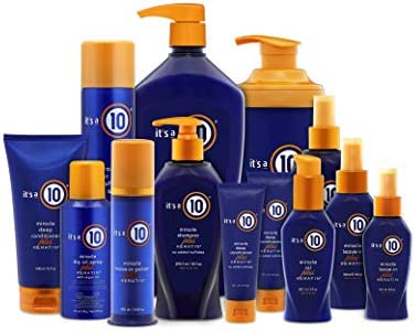 It's a ten Haircare Miracle Leave-In plus Keratin, 10 fl. oz..