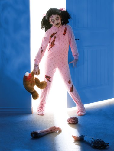 Zombie Girl Child/Tween Costume by Official (Zombie Girl Child Costume)