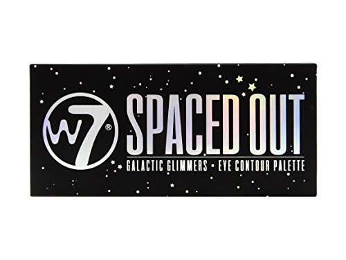 W7 Spaced Out Galactic Glimmers Eye Shadow Eye Contour Palet