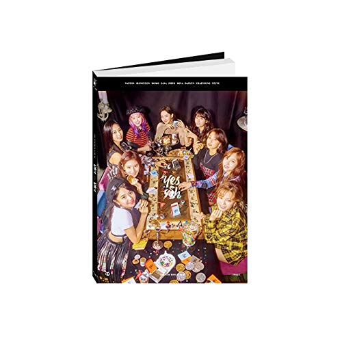 JYP Entertainment Twice - YES o r YES [A ver.] (6th Mini Album) CD+Photocards+YES o r YES Card+Folded Poster+Pre-Order Benefit+Extra Photocards Set