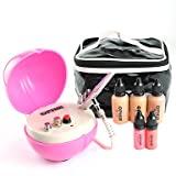 HJLWST OPHIR Professional 0.2mm Air Brush Makeup System Set with Airbrush Foundation for Cosmetic Airbrushing