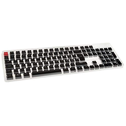 Glorious PC Gaming Race ABS Keycaps - 105 Tasten, schwarz, CH-Layout