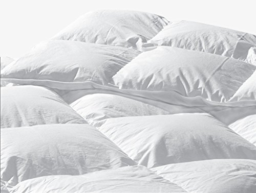 289 TC California/ Cal - Oversized/ Super King 110x100 White Goose Down Comforter: Standard Fill by Highland Feather