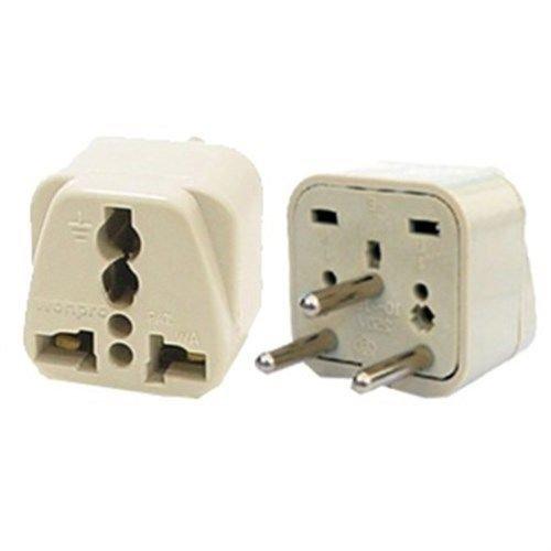 Travel Universal Plug Adapter Type H for Israel, Palestine -