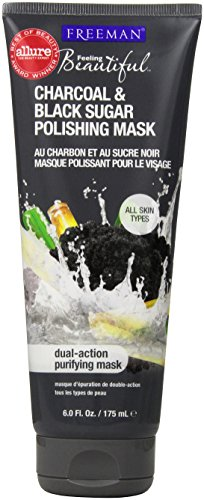 freeman-facial-charcoal-and-black-sugar-polish-mask-6-ounce